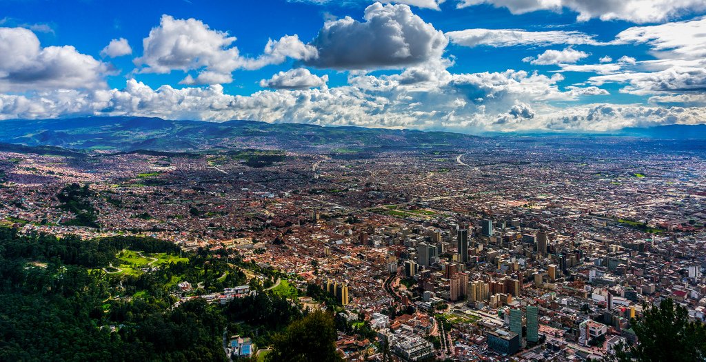 Город Богота – сердце Колумбии