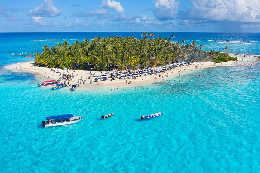 Сан-Андрес - райский остров в Карибском море