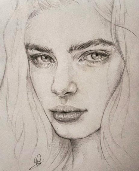 Как рисовать красивых девушек?