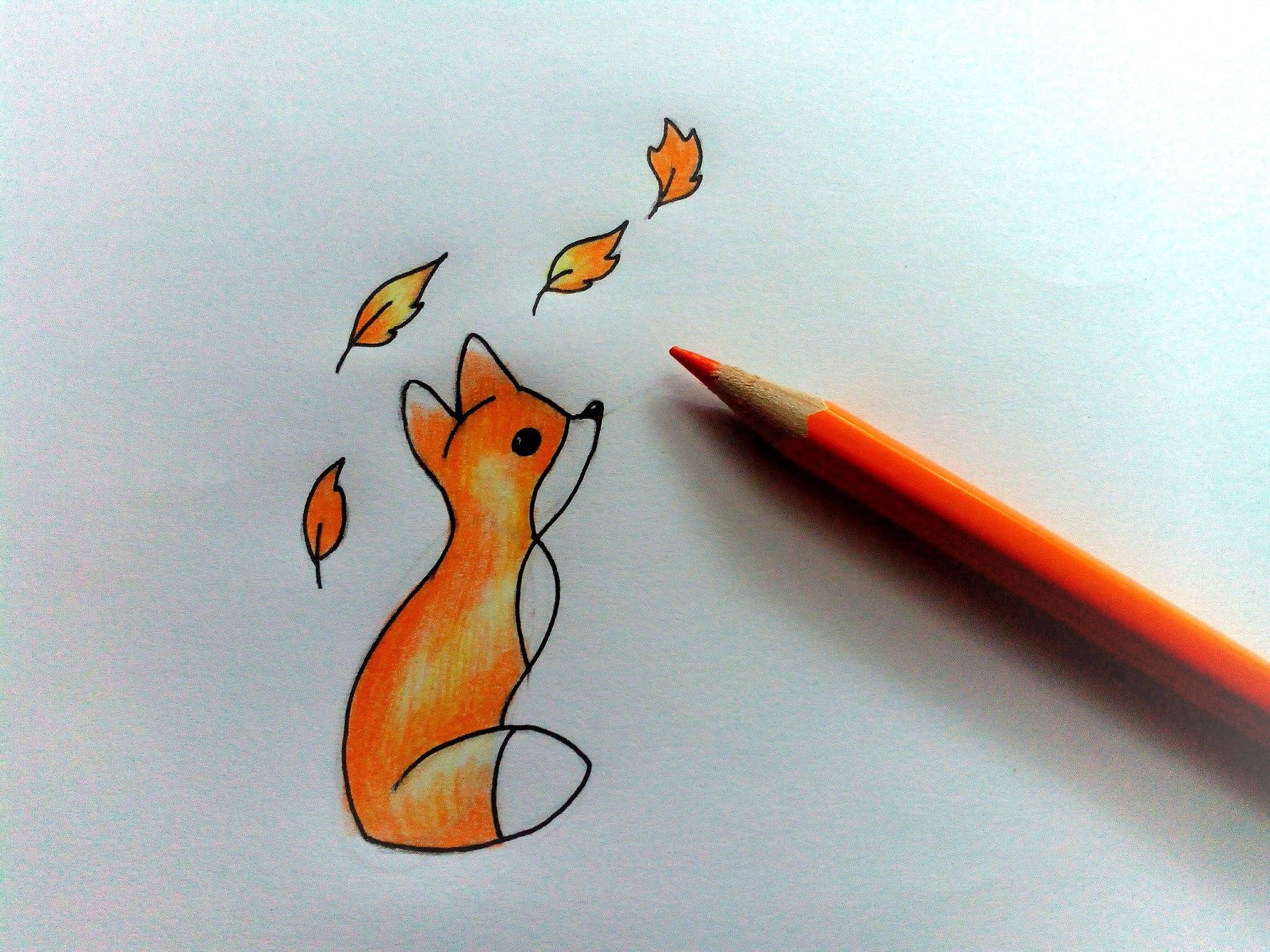 Картинки нарисовать легко и просто и красиво