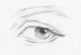 Как красиво рисовать глаза человека: простой и легкий способ