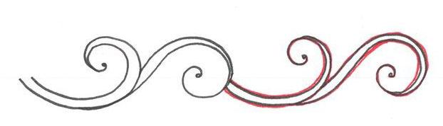 Как рисовать узоры: красивые примеры с пошаговым методом