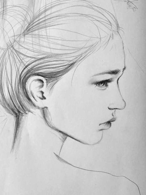 Как рисовать красивых девушек: создаем пошагово портрет