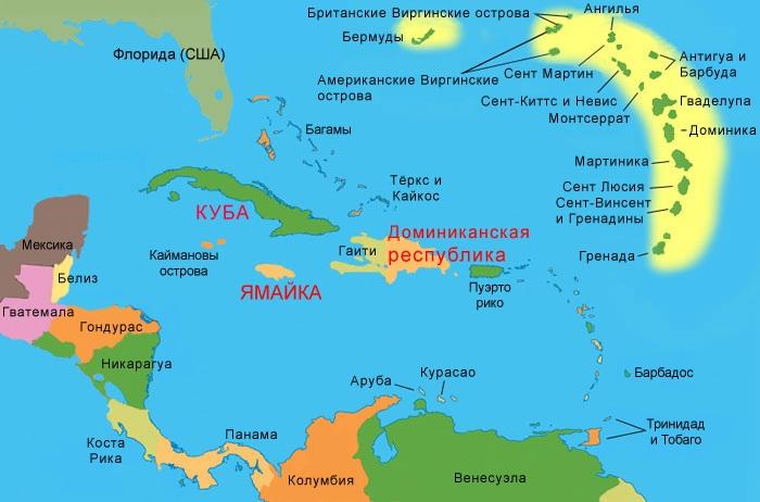 Карибы - это рай на земле