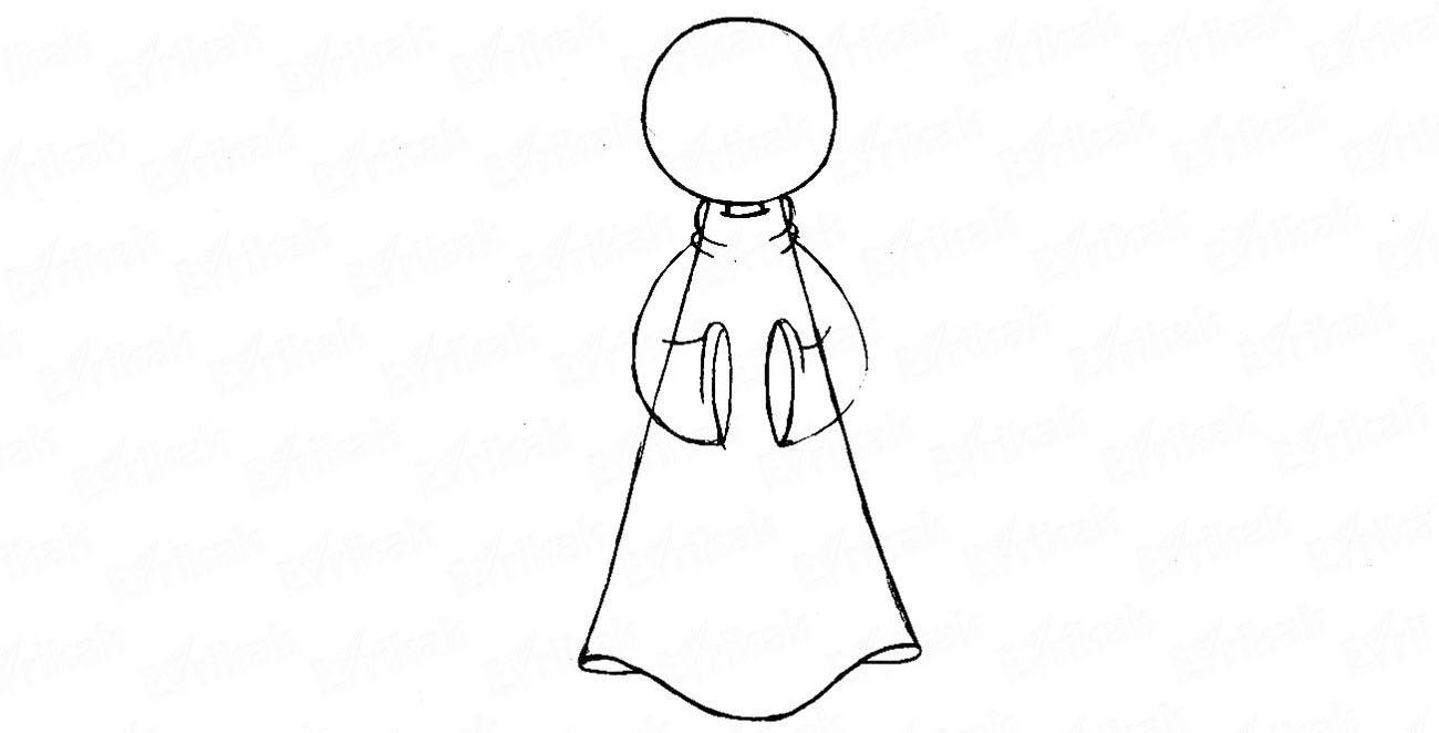 Как нарисовать ангелочков на Рождество: готовимся к празднику
