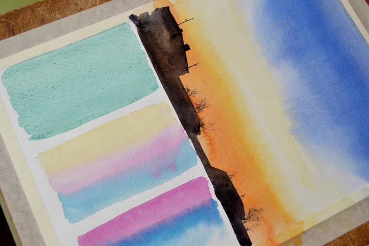 Как красиво рисовать акварелью: особенности материала и эффекты