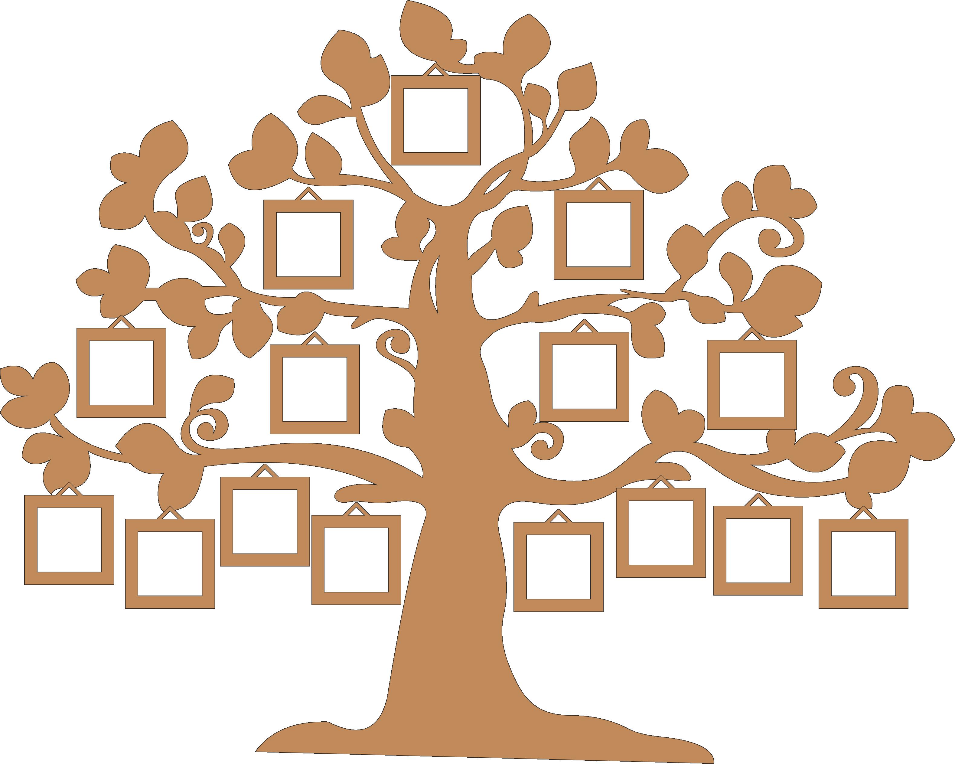 Как нарисовать семейное дерево: легкий способ для детей